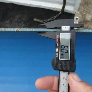 除雪機用ハイド板 幅110 ユキオスタイプに改造用  - 売ります・あげます