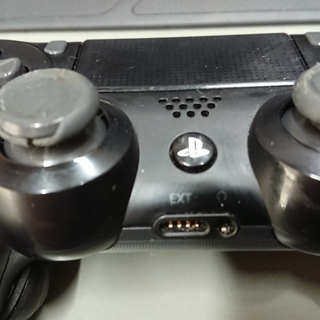 PS4純正コントローラー 改造 黒色