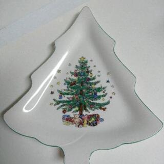 クリスマス プレート  ツリー型