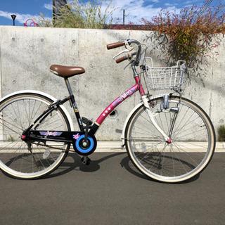 ジュニア自転車 marukin 24インチ シングルスピード S...