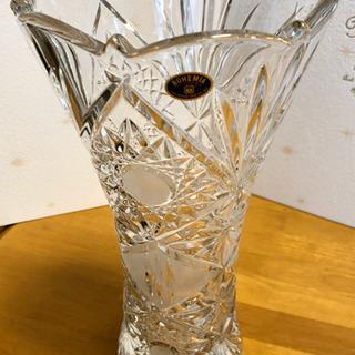 【お買得】クリスタルガラス 花瓶