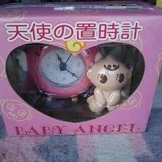 天使の置時計新品未開封