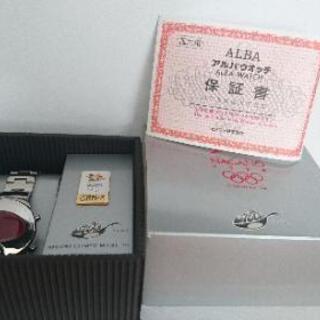 【新品】【値下げ】長野オリンピック限定モデル アルバスプーン 時計