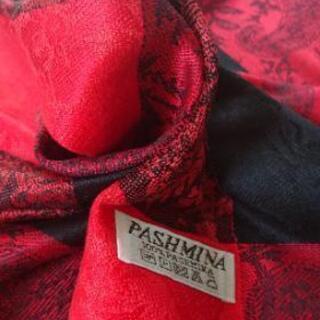 【新品】大幅再値下げ ネパール製  高級パシュミナ ストール  ...