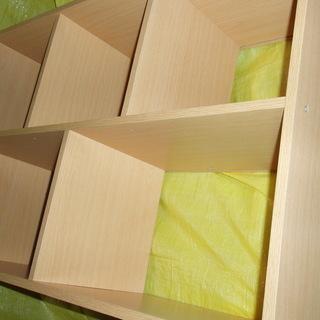 木製棚【美品】 画像切れてますが縦長です