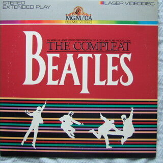 Complete the Beatles LD(レーザーディスク...
