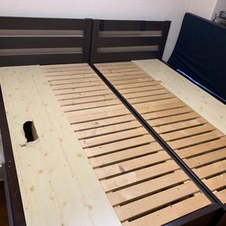 シングルベッド1台 難あり 解体済み