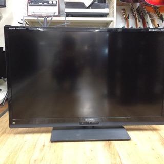 SHARPのLED液晶テレビです!
