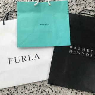 ショップバック 紙袋 バーニーズ Tiffany
