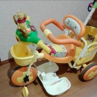 プーさん三輪車