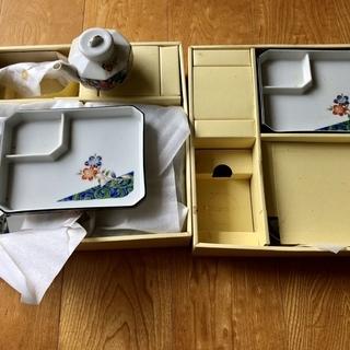 【無料・直接取引】お造り・刺身皿、醤油さし