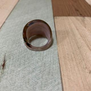 ガラス 指輪