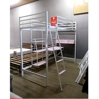 札幌 値下げOK!【かわいい システムベッド】寝床までの高さ14...
