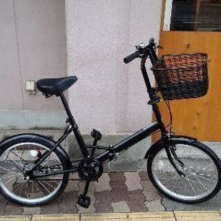美品☆SOUTHRNPORT 20吋折り畳み自転車 シングル/ブラック