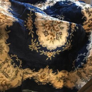 ホットカーペット対応ふかふかラグカーペットマットジャガード織りデザイン