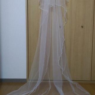 ウエディングドレス用ロングベール