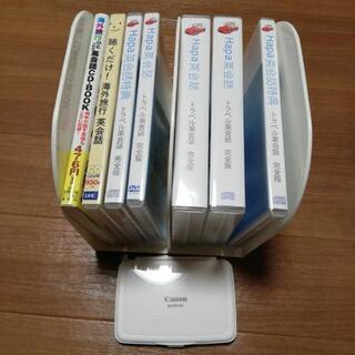 英和和英電子辞書、英会話CD,DVD,本