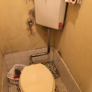 TOTOタンク式トイレ
