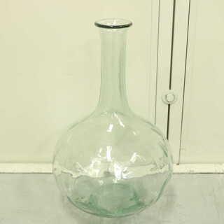レトロ アンティーク 大きなガラス瓶 高さ38cm ガーデニング...