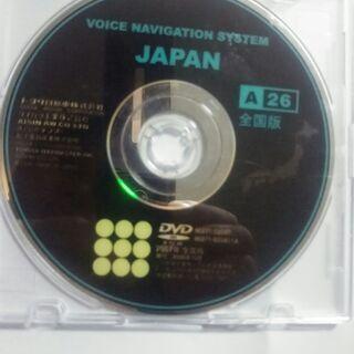 【TOYOTA】トヨタ純正カーナビ用DVD地図ソフト全国版 〈8...