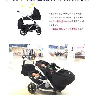 双子用 ベビーカー 新生児対応 フィル&テッズ プロメナー…