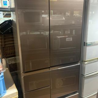 ☆中古品 シャープ プラズマクラスター冷蔵庫 SJ-GT47B-...