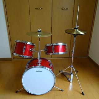 ジュニアドラムセット+オリジナルハイハットシンバル