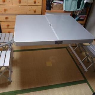 コールマン アルミピクニックキャンプテーブルチェア