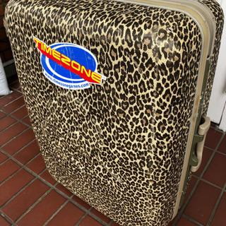 スーツケース 豹柄