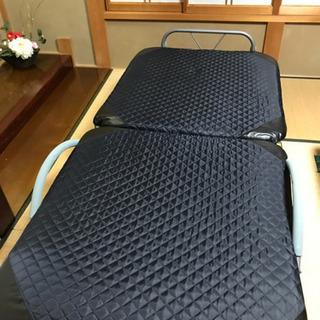 【状態良好】折畳式 シングルベッド