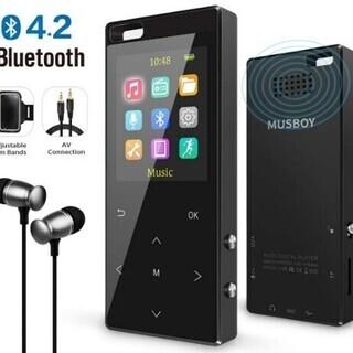 【新品・未使用】MP3プレーヤー Bluetooth4.2対応 ...