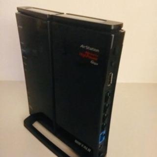 【お値下げ】BUFFALO製 無線LANBBルータ:WZR-HP...