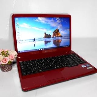 ノートパソコン譲ります。すぐ使える/高速SSD使用/Win10/オフィス有/無線の画像