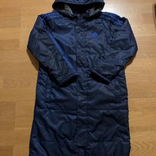 アディダス ベンチコート 紺色 サイズ150