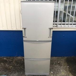 【配送無料】シャープ 345L 両開き冷蔵庫 SJ-WA35K