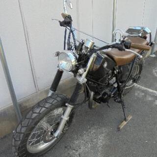 【美車】TW200 ヤマハ カスタム 黒 ブラック 低走行車