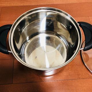 パスタポット IH 鍋 パスタ スパゲティ 麺 20cm ガス火もOK - 売ります・あげます