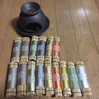 茶香炉  茶葉15本付き❗️