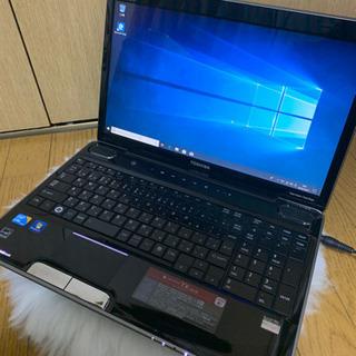 ブルーレイ見れます!新品SSD交換済み!東芝中古爆速ノートパソコ...