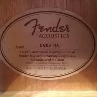 決まりました  Fender (フェンダー) DG8S アコースティックギター ほぼ未使用 − 愛知県