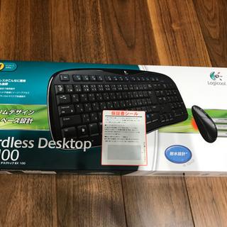 ロジクールのコードレスデスクトップEX100