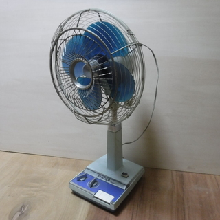 シンガーのレトロな扇風機