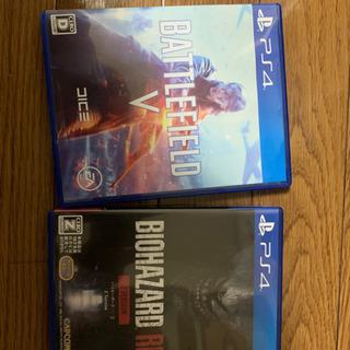 PS4 バイオハザード2リメイク、BF5