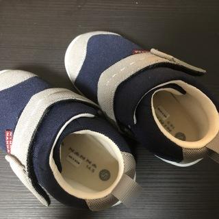 子ども靴 ネイビーブルー 14.5cm 新品 2000円