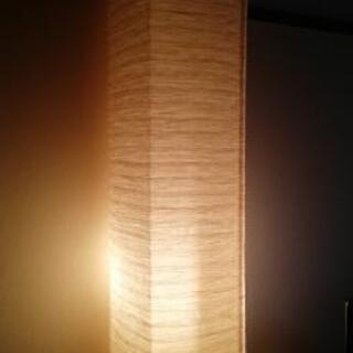 IKEA143cm角 の和紙スタンド照明