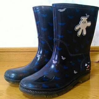 ミッキーマウス 長靴 19cm Mickey Mouse Haw...