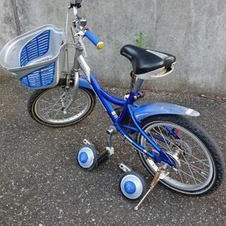 【中古】子供用 自転車 16インチ ブリジストン