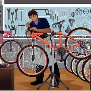 自転車格安修理、出張修理いたします!パンク修理は800円!