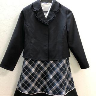 女児卒園用スーツ130