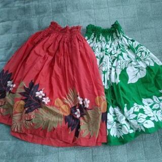 フラダンスのスカート2枚セット!